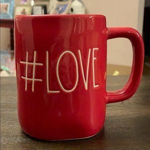 Rae Dunn #Love Red Mug